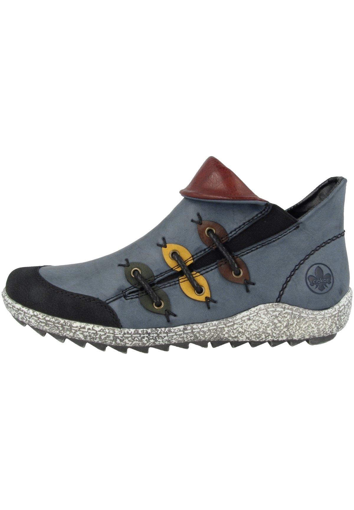 Damen Ankle Boot - blue combination