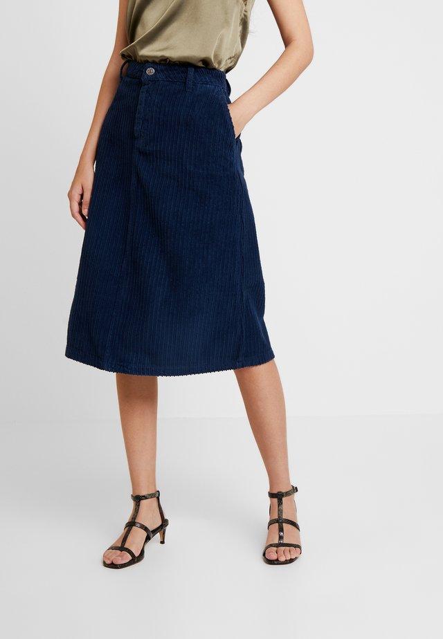 AMIRA SKIRT - A-lijn rok - gibral blue