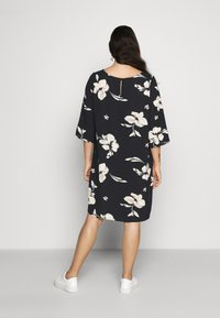 ONLY Carmakoma - CARTINE TUNIC DRESS - Day dress - black - 2