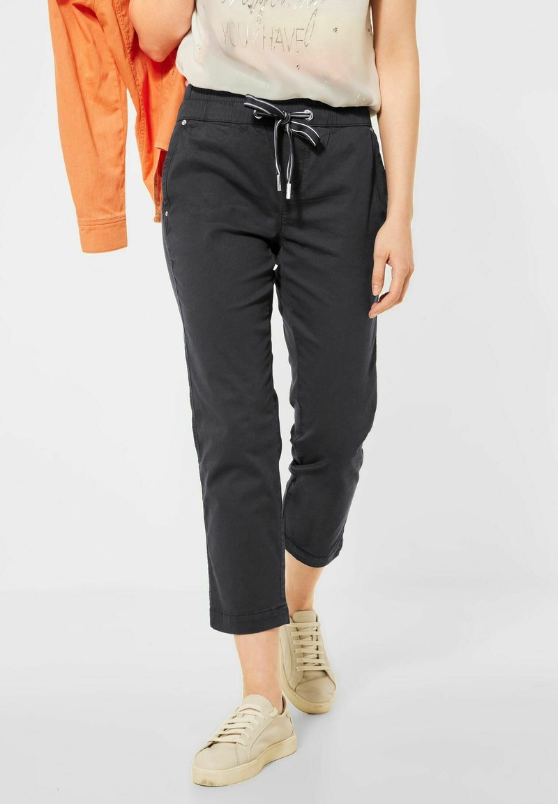 Street One - Tracksuit bottoms - grau