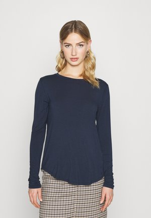 EASY CREW - Long sleeved top - navy