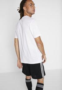 adidas Performance - TAN  - Camiseta estampada - white - 2