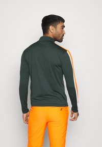 CMP - MAN - Sweatshirt - nero melange/orange fluo - 2
