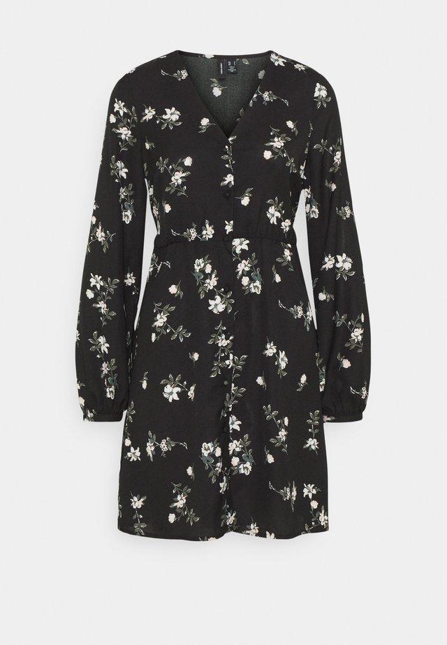 VMFALLIE TIE DRESS - Blusenkleid - black