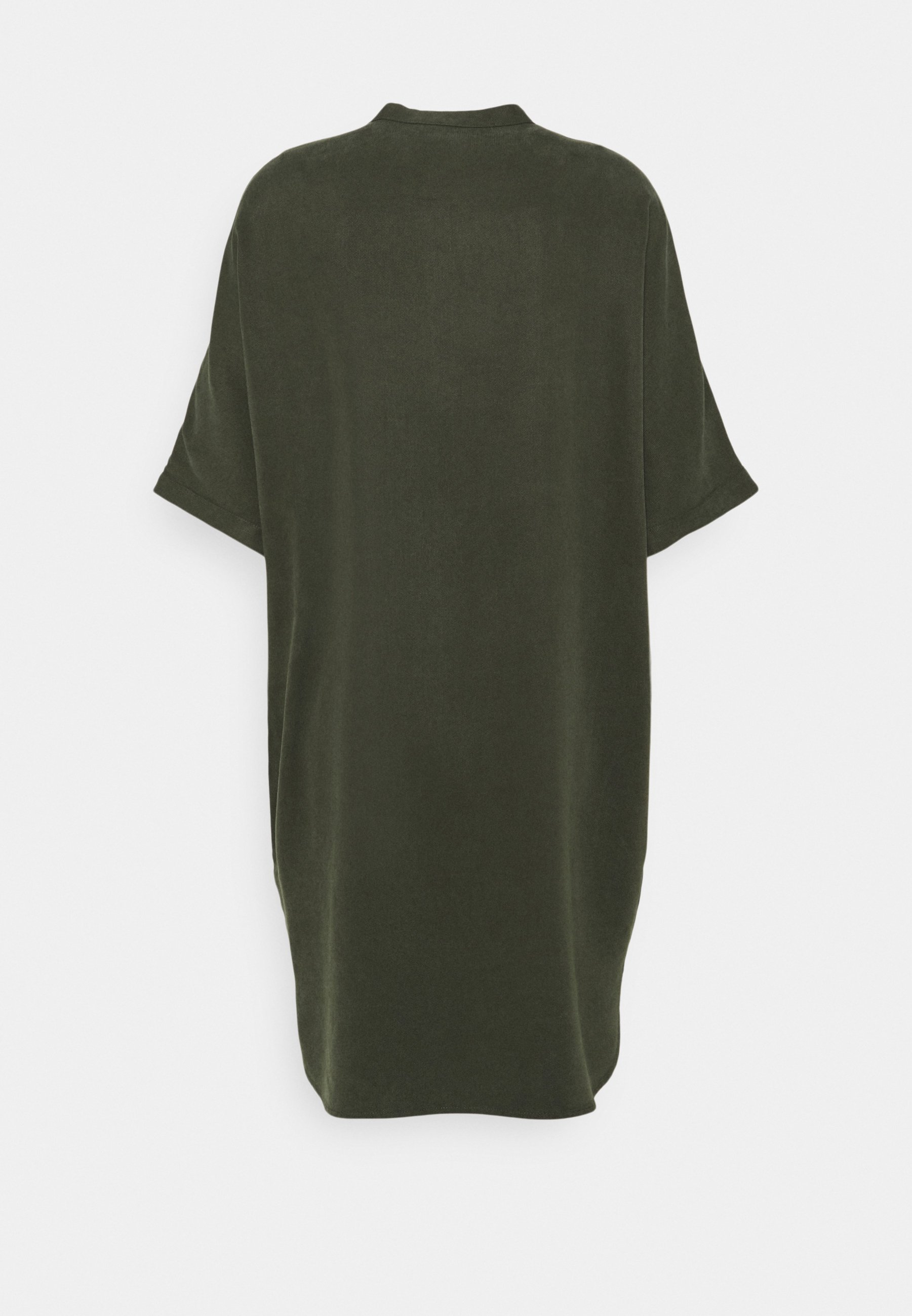Women DRESS SHORT SLEEVE BUTTON PLACKET - Day dress