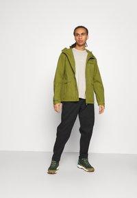 Vaude - ROSEMOOR JACKET - Waterproof jacket - bamboo - 1