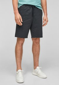 QS by s.Oliver - Shorts - black heringbone - 0