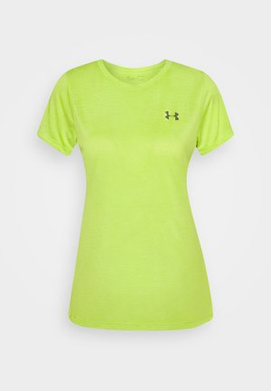TECH TWIST - Camiseta básica - lime fizz