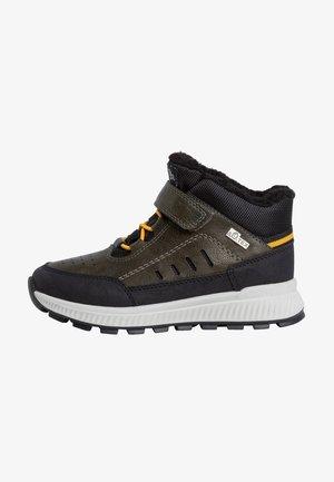 Sneakers hoog - khaki comb