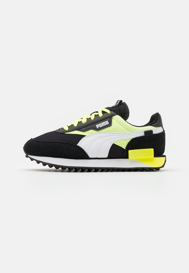 FUTURE RIDER NEON PLAY UNISEX - Zapatillas - black/fizzy yellow