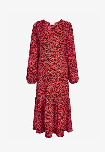 Jersey dress - multi-coloured