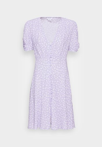 SABRINA DRESS - Blusenkleid - daisy lilac/white