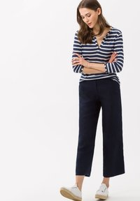BRAX - STYLE MAINE S - Trousers - navy - 1