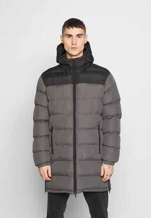 ALBIE - Zimní kabát - black/grey