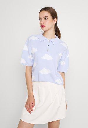 Polo shirt - clear blue