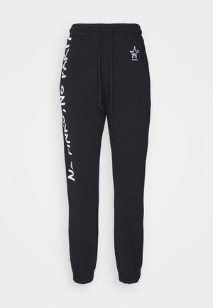 ENOLOGIA - Teplákové kalhoty - black