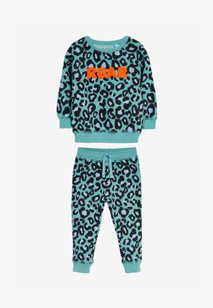 LEOPARD CO-ORD  - Tracksuit - blue
