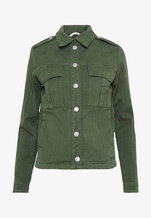 BLAIR HERRINGBONE JACKET - Summer jacket - union green