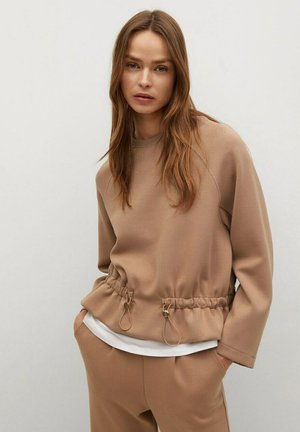 PAPIER - Sweatshirt - marron moyen