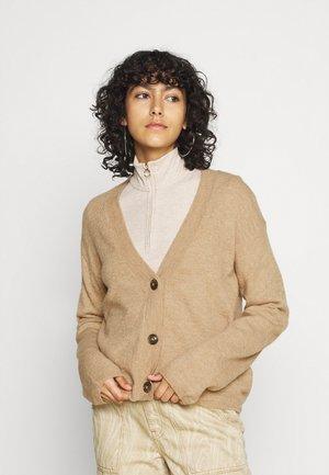 MOFFIE - Cardigan - light brown
