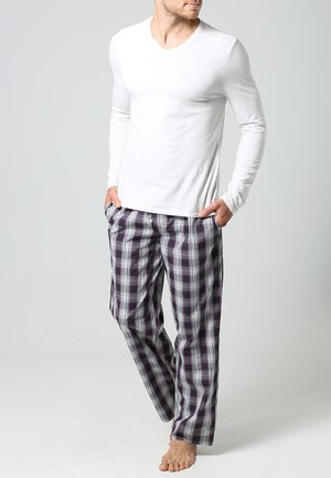 Pyjama bottoms - red/white
