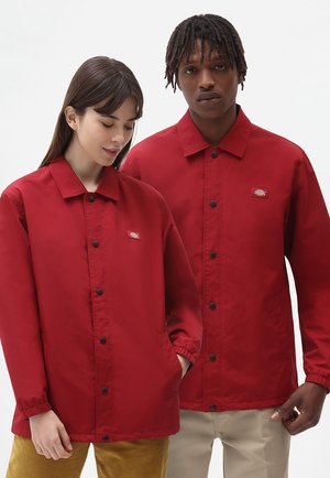 OAKPORT COACH - Summer jacket - biking red