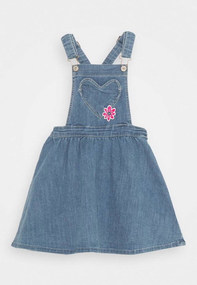 LATZROCK KID - Denim dress - mid blue denim