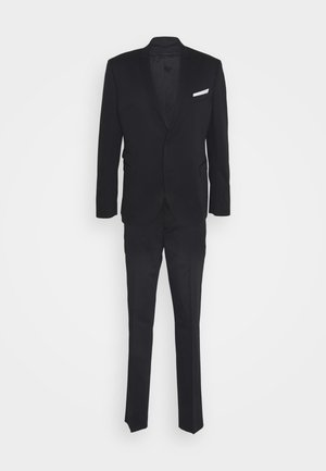 TRAVEL FITTED SLIM SUIT - Suit - dark navy