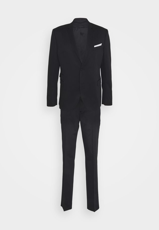 TRAVEL FITTED SLIM SUIT - Completo - dark navy
