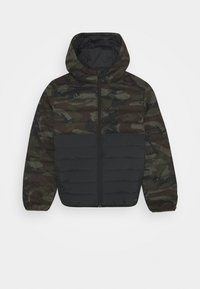 Quiksilver - SCALY MIX YOUTH - Zimní bunda - green/black - 0