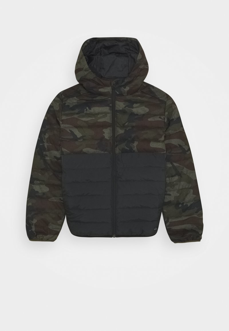 Quiksilver - SCALY MIX YOUTH - Winterjas - green/black