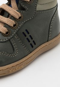 Kickers - TACKFLO - Baby shoes - kaki gris/bleu - 5