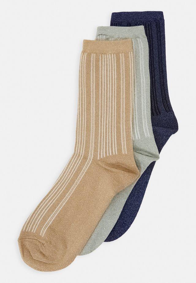 SLF3-PACK LANA SOCK 3 PACK - Ponožky - maritime blue/tuffe
