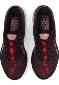 ASICS - GEL-KAYANO 28 - Stabilty running shoes - black/electric red - 1