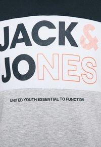 Jack & Jones - JJARID HOOD - Felpa con cappuccio - navy blazer - 4