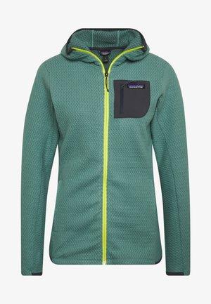 AIR FULL-ZIP HOODY - Fleece jacket - regen green