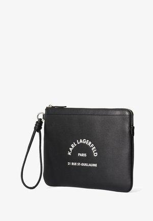 KARL LAGERFELD RUE ST GUILLAUME POUCH - Wallet - black