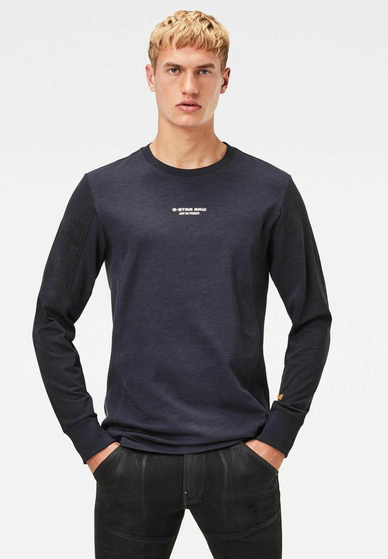 G-Star - MOTAC LOGO - Långärmad tröja - mazarine blue