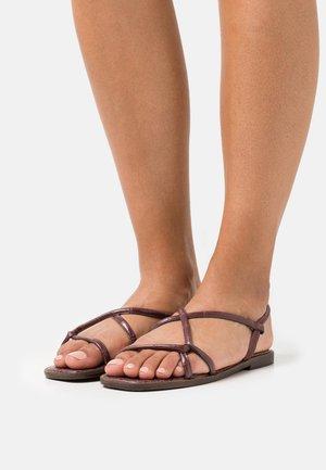 TOOSIEFLEX - Sandals - dark brown