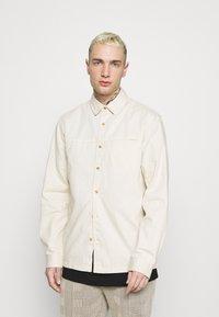 Topman - TWILL - Overhemd - ecru - 2