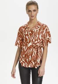 Soaked in Luxury - SLNIKAIA - Blouse - zebra strokes red - 0