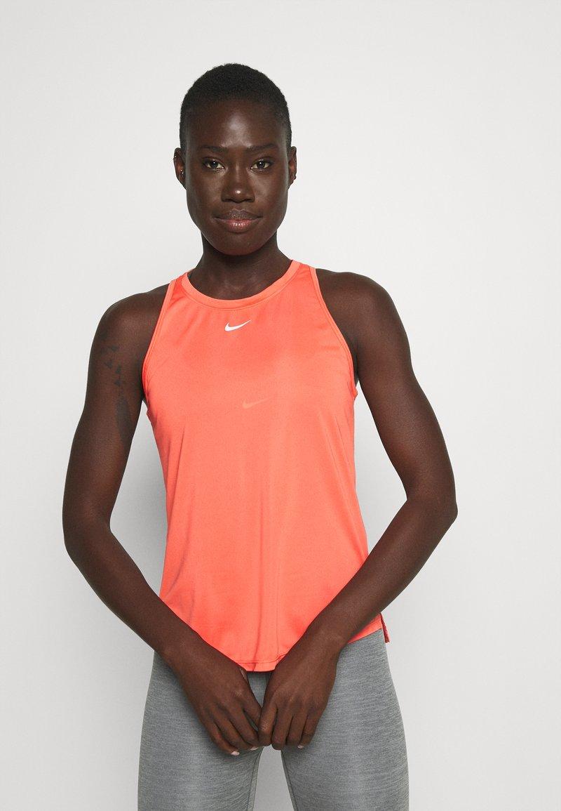 Nike Performance - ONE TANK - Top - magic ember/white