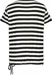 Monari - MIT RINGEL - Print T-shirt - white - 1