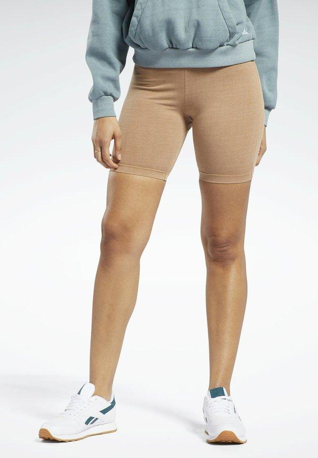 Pantaloncini 3/4 - brown