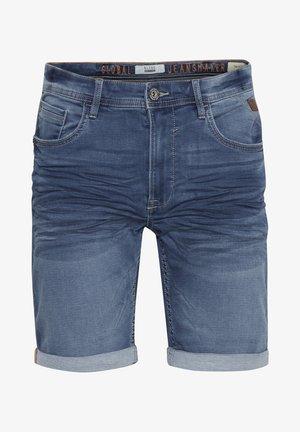 TWISTER FIT - Denim shorts - denim light blue