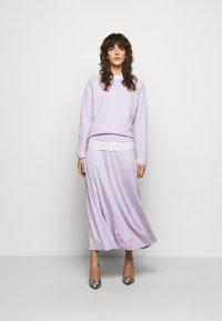 By Malene Birger - ANABEL - A-line skirt - light purple - 1