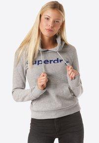 Superdry - Hoodie - grey - 0
