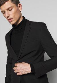 Limehaus - SUIT SLIM FIT - Suit - black - 4