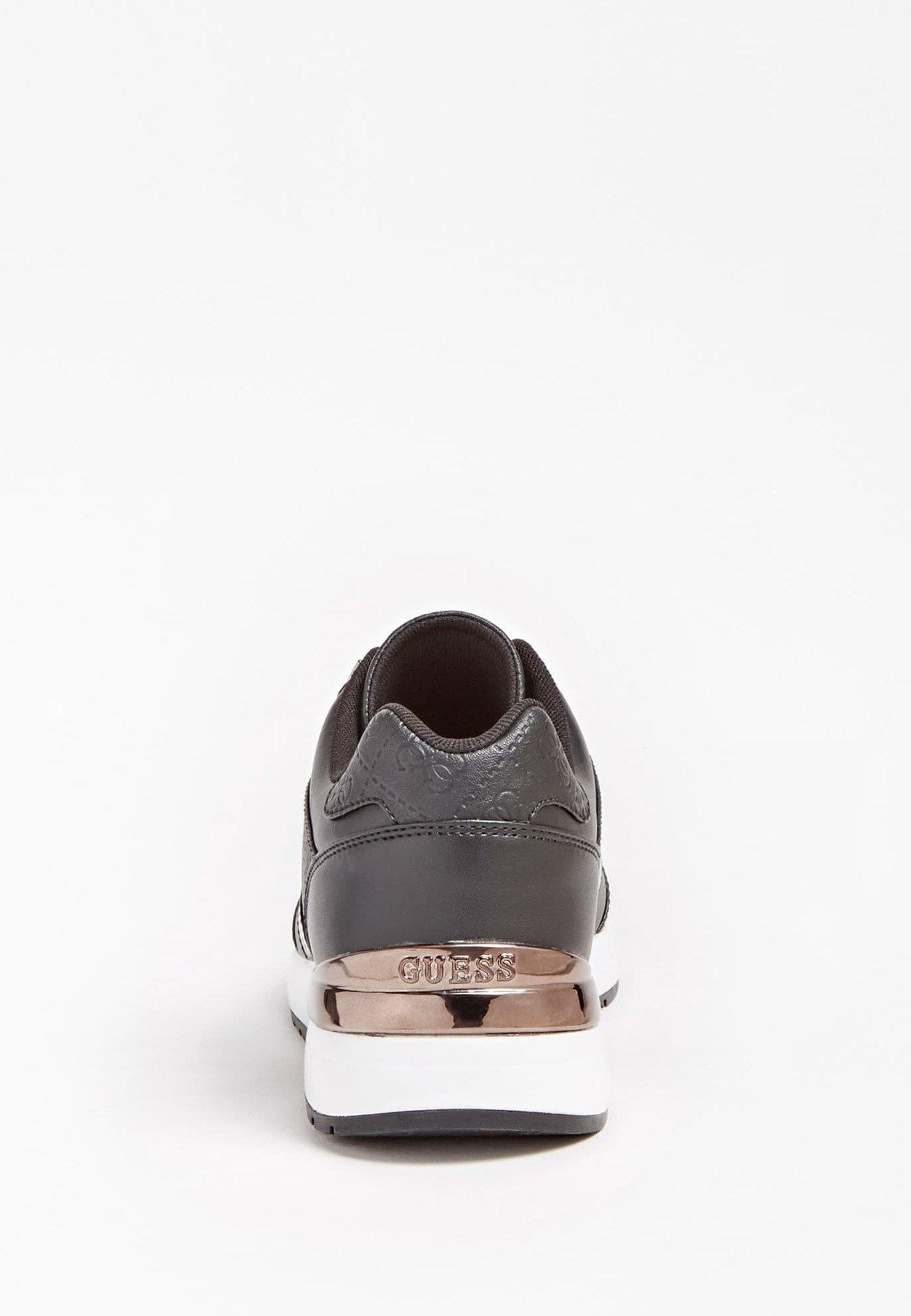 Guess Motiv - Sneaker Low Noir/schwarz