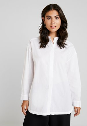 INESSA BLOUSE - Button-down blouse - white